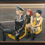 Transported 1996 Oil on Linen 63x75cm