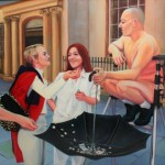 Pennies from Heaven 2000 Oil on board 60x70cm
