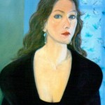 Marion 1993 Oil on canvas 65x40cm